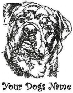 Custom Personalized ROTTWEILER Dog Breed Sweatshirt
