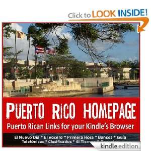 Puerto Rico Homepage (Spanish Edition) DC Sanchez  Kindle