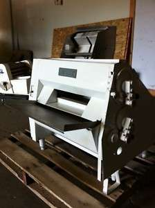 HEAVY DUTY ANETS PIZZA BAKERY DOUBLE STACK PASS THROUGHT DOUGH ROLLER