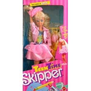 Barbie   Teen Time SKIPPER Doll   1988 Mattel Toys