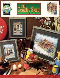 Old Country Store Cross Stitch Book