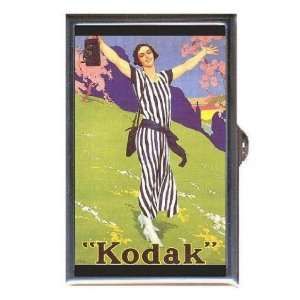 Kodak 1920s Pretty Girl Color Coin, Mint or Pill Box Made