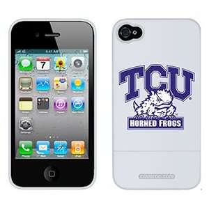 TCU Horned Frogs on Verizon iPhone 4 Case by Coveroo