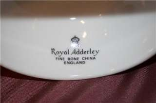 Royal Adderley Bone China Floral Bell Made in England