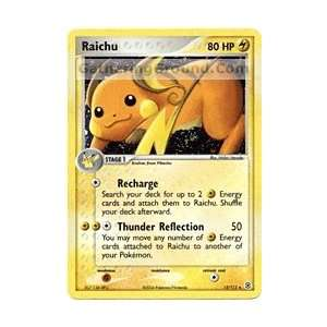 Raichu   EX Fire Red and Leaf Green   12 [Toy]: Toys & Games