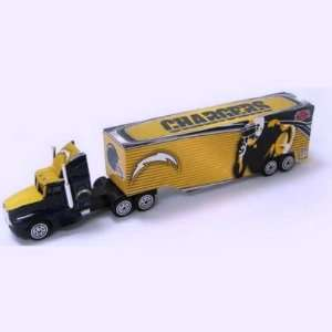 SAN DIEGO CHARGERS NFL Semi Diecast Tractor Trailer Truck 1/87 Scale