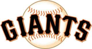 MLB San Francisco Giants Iron On Transfer #28