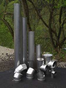 48 Long Stainless Steel Stove Pipe (Liner)