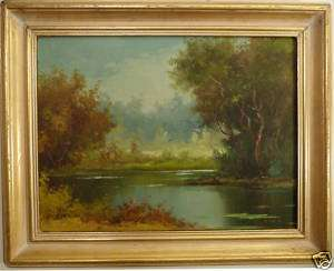 RINALDI FINE ART IMPRESSIONIST OIL PAINTING LISTED ARTIST