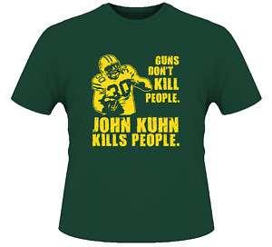 John Kuhn Guns Dont Kill Green Bay T Shirt