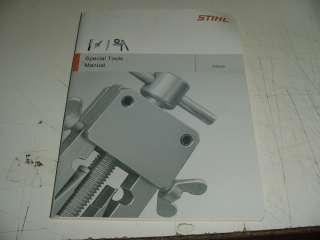 STIHL CHAINSAW SPECIAL TOOL MANUAL BOX352