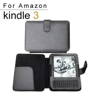 Case + LED Reading Light For  Kindle Fire 3G/3/4 DX WIFI