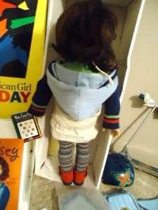 PLEASANT CO AMERICAN GIRL DOLL LINDSEY YELLOW BOX LOT