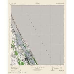 USGS TOPO MAP PORT ORANGE QUAD FLORIDA (FL) 1944
