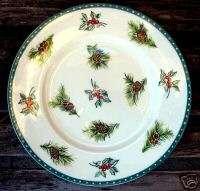Mikasa Ultima Christmas Wish 1999 Holiday Salad Plate
