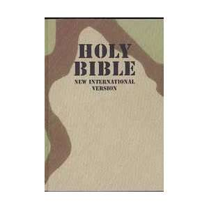IBS Camouflage Pocket Bible International Bible Society Books