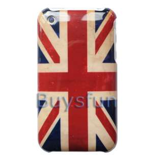 Retro look Britain Union Jack flag Hard Case Cover For Apple iPhone 3G