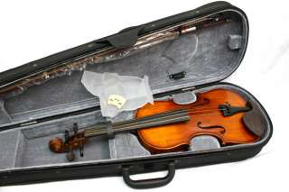 Violin VN 534 Venetian Hand Carved Solid Wood SIZE 3/4