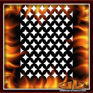 Background 18 airbrush stencil template harley paint