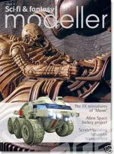 SCI FI & FANTASY MODELLER 14 ALIEN UFO Gerry Anderson WOTW Star Wars