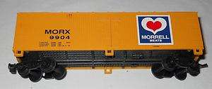 Freight Cars (MORX reefer, Swift reefer, Swift stockcar, tankcar