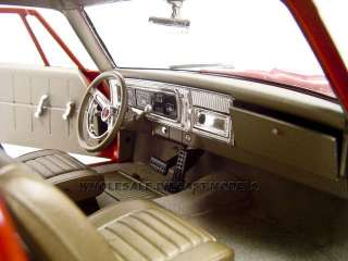 1965 PLYMOUTH BELVEDERE RED 118 HIGHWAY 61 MODEL