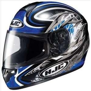 HJC Cl 16 Hellion Blue Full Face Helmet CL16 Size X Large