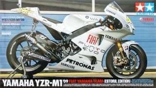 Tamiya 14120 YZR M1 2009 Fiat Yamaha Team Estoril 1/12 scale kit