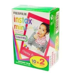 Colorful Fuji Instax Mini Film (20 Films)
