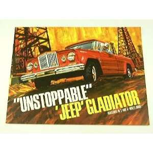 1966 66 Kaiser Jeep GLADIATOR Pickup Truck BROCHURE