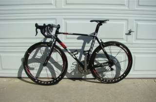 auction is this beautiful look 595 with full dura ace group bontrager