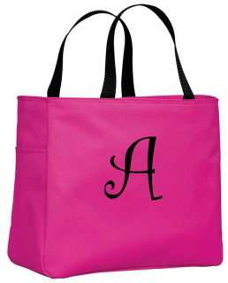 Personalized Monogrammed Embroidered Tote Bridesmaid Gift Bags Bridal