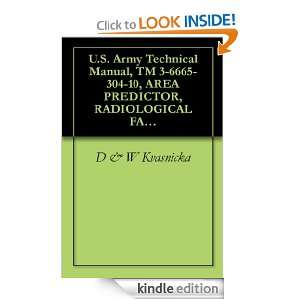 Army Technical Manual, TM 3 6665 304 10, AREA PREDICTOR