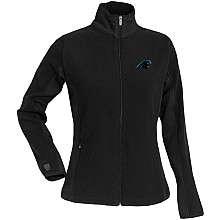Antigua Carolina Panthers Womens Sleet Full Zip Micro Fleece