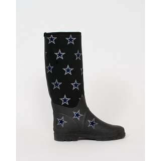 Cuce Shoes Dallas Cowboys Womens Enthusiast Rain Boot