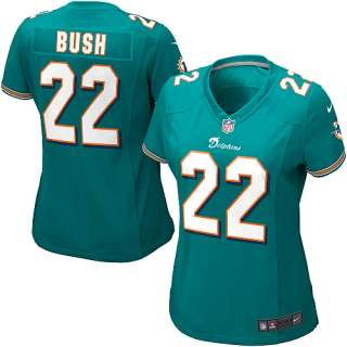 Girls Nike Miami Dolphins Reggie Bush Game Team Color Jersey (7 16