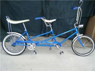 VTG RARE ORIGINAL SCHWINN MINI STINGRAY TWINN 1968 BICYCLE BIKE TANDOM