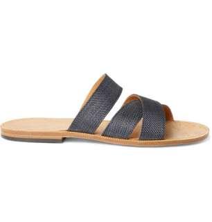 Maison Martin Margiela Woven Strap Sandals  MR PORTER