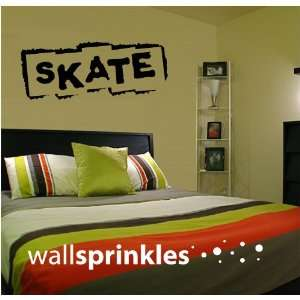 Skate Skateboarding Vinyl Wall Art Decor Decal Stcker
