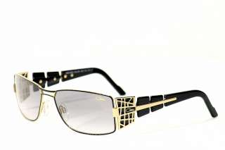 Cazal Sunglasses 9020 001 Black Gold Shades