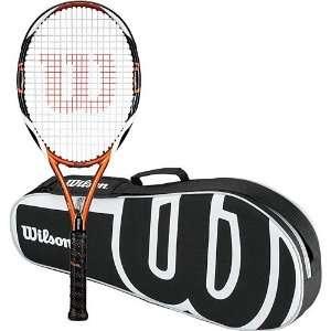 Wilson K Tour Team FX Tennis Racquet & 3 Pack Bag Bundle