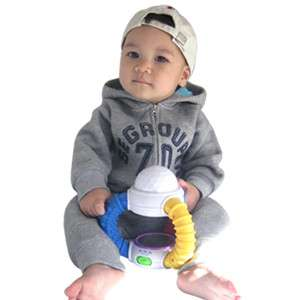 Made in Korea Seventy Napping Baby Boy Girl Infant Warm Clothing / OA