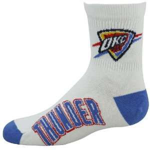 Oklahoma City Thunder Youth White Light Blue Quarter