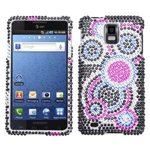 Bubble Crystal Bling Case Phone Cover Samsung Infuse 4G