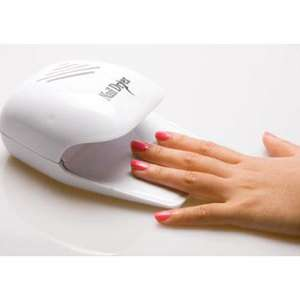 Portable Finger Toe Nail Art Tip Polish Dryer White