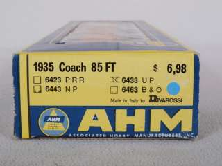 AHM/Rivarossi 6433 HO 85 Coach Passenger Car UP #8154