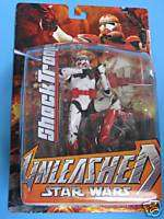 Star Wars Unleashed ROTS Shocktrooper 8 Action Figure MOC C9