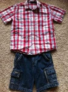 BOYS SPRING / SUMMER CLOTHES size 6/ 7 GAP OLD NAVY GYMBOREE