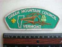 Boy Scout Patch CSP GREEN MOUNTAIN COUNCIL VERMONT