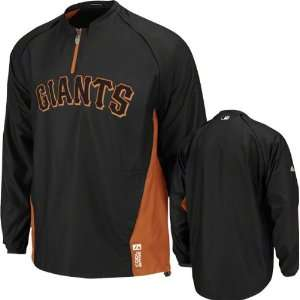 San Francisco Giants Majestic Black Authentic Collection
